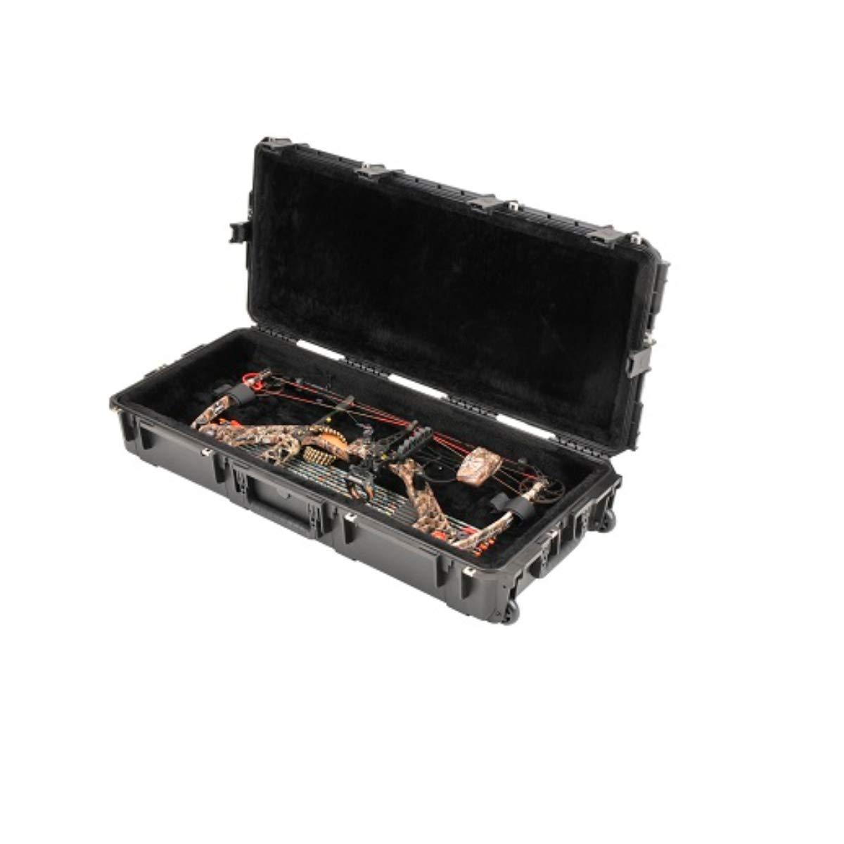 SKB 3i-4217-PL Injection-Molded Parallel Limb Bow Case Black