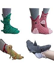 Knit Crocodile Socks-Knit Animal Socks Funky Knitting Pattern Whimsical Alligator Knitting Cuff