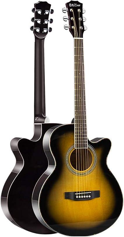 WXLSQ Corte de 40 Pulgadas Guitarra acústica para ...