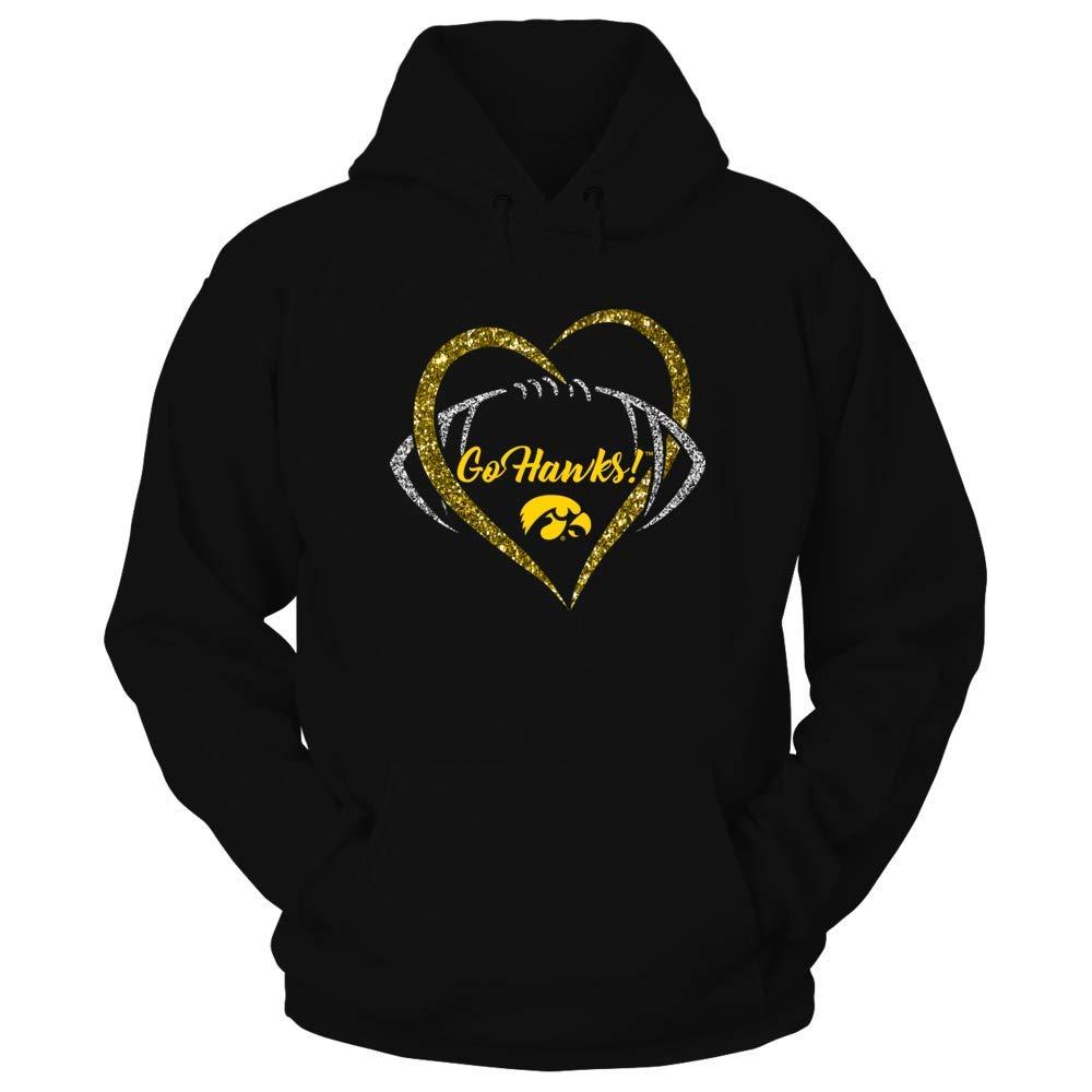 Iowa Hawkeyes T-shirt - Heart Football