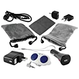 iPod Accessory, Ematic 10 in 1 Universal Accessory Kit for any iPod or MP3 Player [ EA302 ]