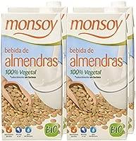 Monsoy - Bebida Ecológica de Almendras - Caja de 4 x 1L ...