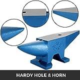 Happybuy Single Horn Anvil 66Lbs Cast Steel Anvil