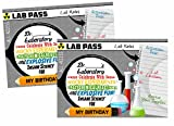 Mad Scientist Science Party Supply Decorations Invites Favors (Invitations)