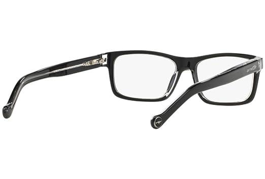 Amazon.com: Arnette escala unisex anteojos, 1019 negro ...