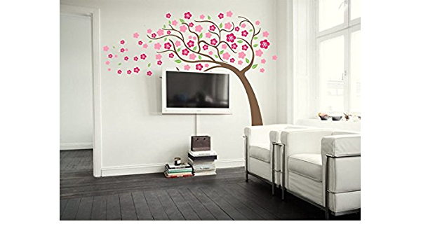 Pop Decors PT-0065-Vb Beautiful Wall Decal Bunny and Fruit Tree