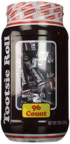 Tootsie Roll - Chocolate, Large, 96 -