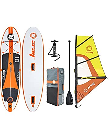 z-ray W1 10 Windsurf SUP inflable STAND UP Paddleboard con bomba/remo