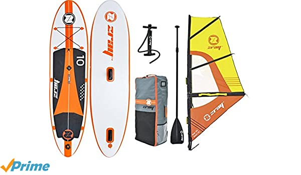 z-Ray W1 10 Windsurf Sup Inflable Stand UP Paddleboard con Bomba ...