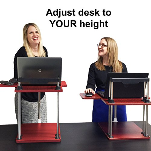 STAND STEADY UpTrak Standing Desk - Best Seller! - converts any desk...