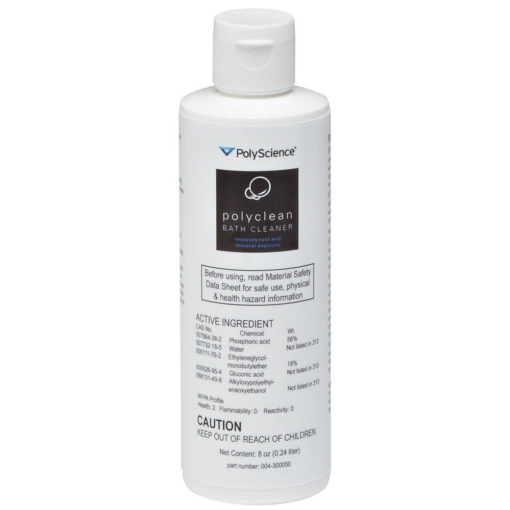 PolyScience Polyclean Water Bath Cleaner 8 oz Bottle
