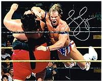 Wwe Wwf Wcw Lex Luger Autographed 8x10 Photo Autograph Signed Vs Yokozuna