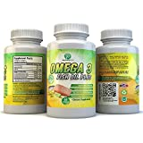 tuna omega 3 fish oil - BloomingForm Omega 3 Fish Oil Plus - EPA & DHA Fatty Acids Extra Strength - 60 Burpless Softgels