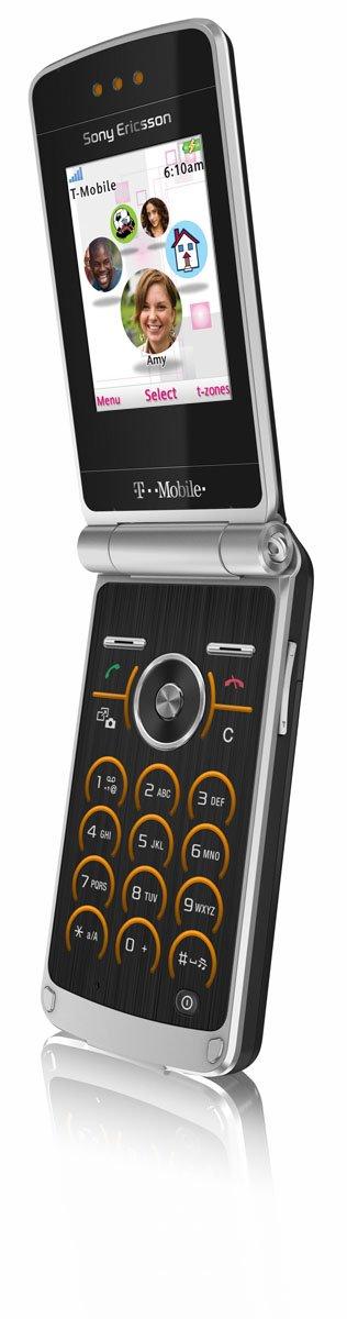 amazon com sony ericsson tm506 phone black chrome amber t mobile rh amazon com New Sony Ericsson Phones Sony Ericsson Slide Phone
