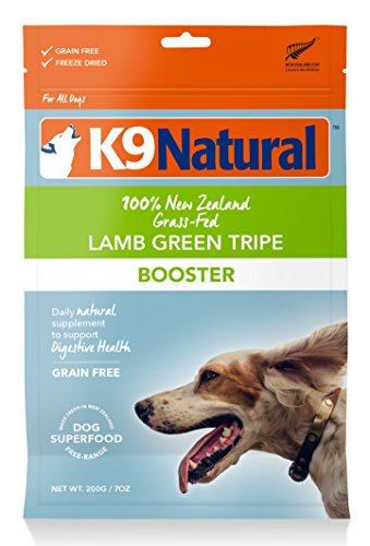 Green Dog Naturals Healthy (K9 Natural Freeze Dried Booster 7oz Lamb Green Tripe)