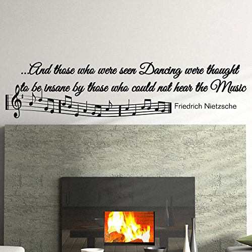 Music Notes Wall Decals Quotes Vinyl Lettering And Those Who Were