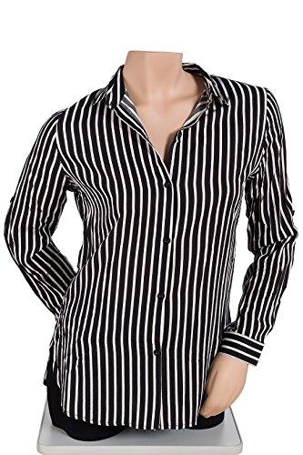 Rayas Blanco Negro Italienische Y Camisas Para 40 Mode Mujer 6g7ybYf