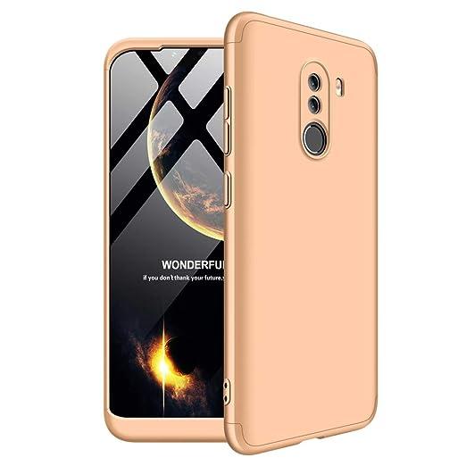 Amazon.com: Shinyzone Xiaomi Pocophone F1 3 in 1 Hard Case ...