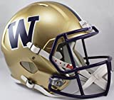 NCAA Washington Huskies Full Size Speed Replica Helmet, Purple, Medium