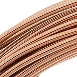 Beadsmith DA2610-COP 12-Gauge Aluminum Craft Wire, 39-Feet, Light Copper
