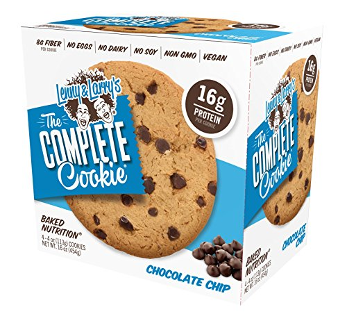 Lenny & Larry's The Complete Cookie 4 Pack Box 4oz Cookies (Chocolate Chip)