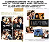 Best Picture Winners 9-Film DVD Set - Casablanca/ Gigi/ An American in Paris/ Mrs. Miniver/ The Sound of Music/ Gentleman's Agreement/ The French Connection/ All About Eve/ How Green was my Valley
