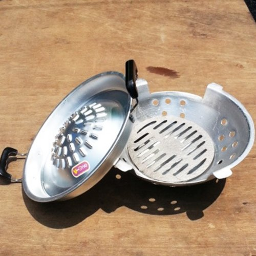 Enamel Korean Thai Lao Japanese Table Charcoal BBQ Stove Grill Set by Fullrich