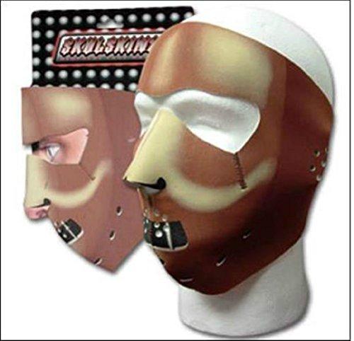 Capsmith Muzzle Hannibal Full Face Neoprene Mask Biker Ski Costume Reversable