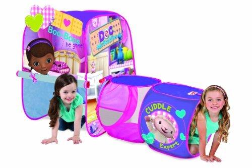 Playhut Doc McStuffins Discovery Hut Tent [並行輸入品] B07GDCKLM1