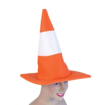 amazoncom traffic cone hat hats unisex one size bristol novelty toys games