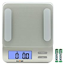 Accuweight Digital Kitchen Scale Electronic Meat Food Weight Scale, 5kg/11lb