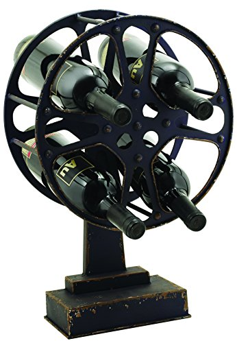 Country Cottage Movie Reel Countertop Wine Holder by Twine (Reel Top)