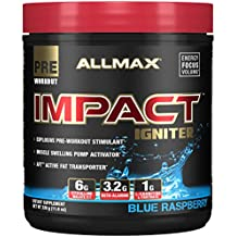 ALLMAX Nutrition Impact Igniter, Explosive Pre-Workout Stimulant, Fruit Punch, 328g