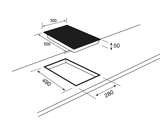 Teka GKS 300 cn Domino vitrocerámica Autark: Amazon.es ...