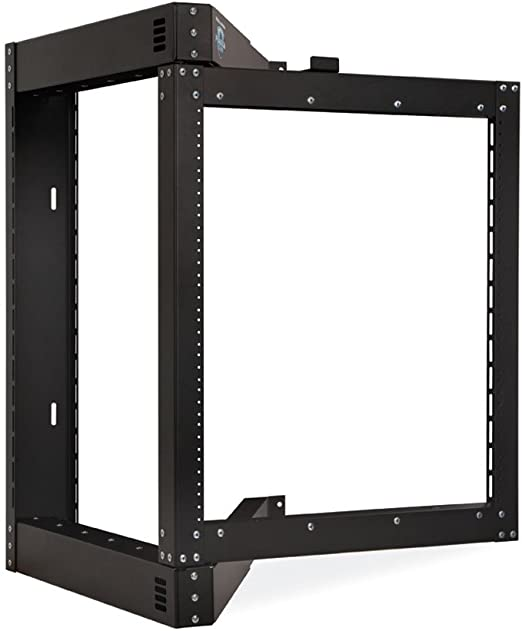 Amazon Com 12u Phantom Class Open Frame Swing Out Rack