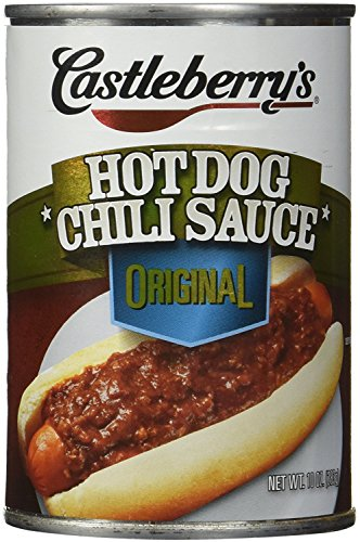 castleberry hot dog chili - 3