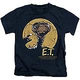 E.T. The Extra-Terrestrial Sci-Fi Film Moon Frame Little Boys T-Shirt Tee