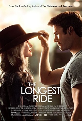 The Longest Ride Movie Poster 70 X 45 cm