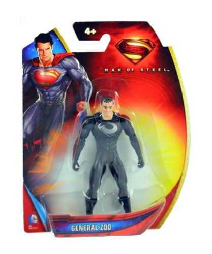 Zod Man Of Steel Costume (Superman Man of Steel Armor Suit Zod 3.75 inch Action Figure)