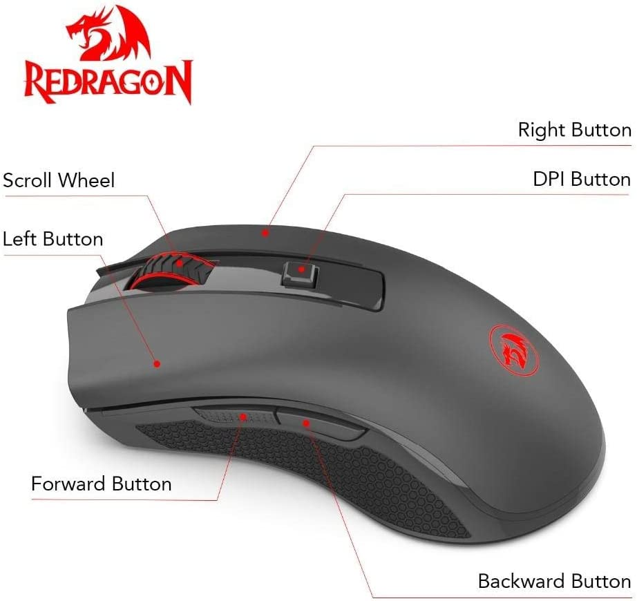 Professional 2400 DPI 4 Buttons 4D USB Optical Wired Gaming Mice