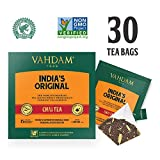 India's Original Masala Chai Tea Bags, 30 TEA BAGS, 100% NATURAL SPICES & NO ADDED FLAVOURING – Blended & Packed in India – Black Tea, Cardamom, Cinnamon, Black Pepper & Clove For Sale