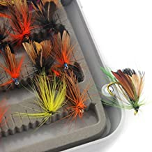Generic 32pcs Fly Fishing Flies Assortment Trout Flies Lures Hook Tackle Accessories