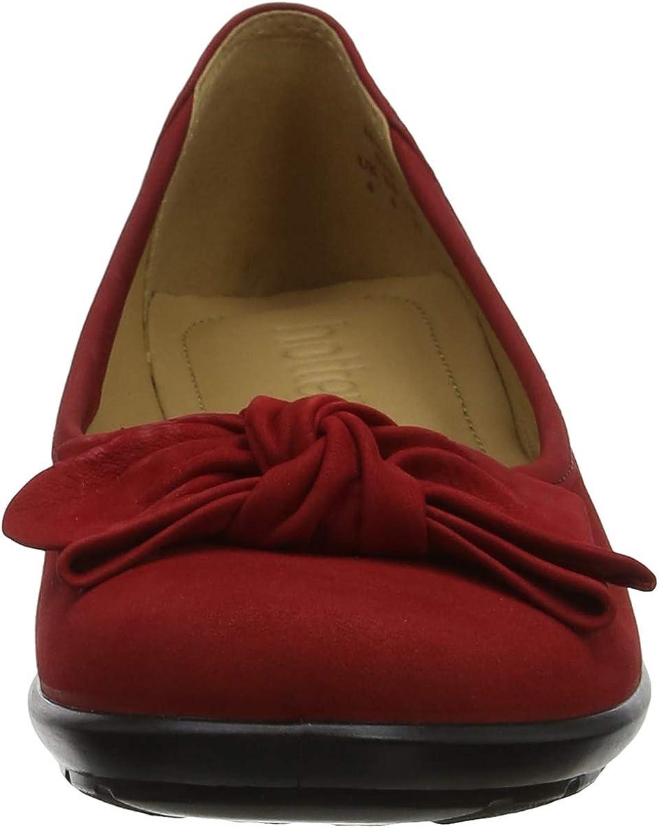 Hotter Womens Jewel Closed Toe Ballet Flats