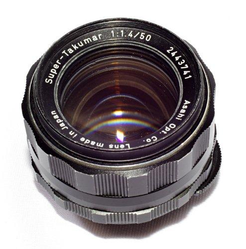 Pentax Takumar F1 4 50mm mount