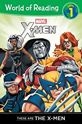 These are the X-Men Level 1 (World of Reading)