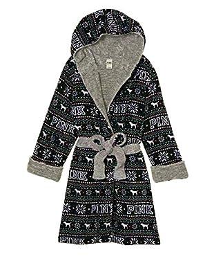 Victoria's Secret PINK Reversible Plush Holiday Robe