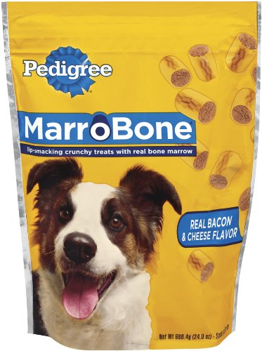 Pedigree Marrobone Bacon and Cheese Dog Snack Treat, 24-Ounce, My Pet Supplies