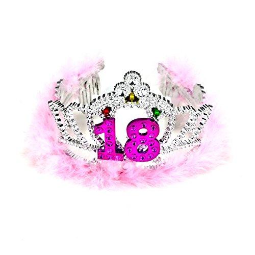 - Forum Novelties Flashing Birthday Tiara #18 Novelty Item