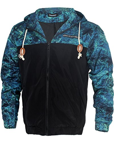Stylish Floral Print Weight Jackets Wind Resistant product image