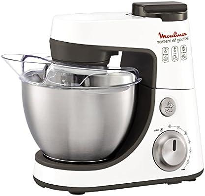 Moulinex Masterchef Gourmet Silver - Robot de cocina, 900 W, bol ...